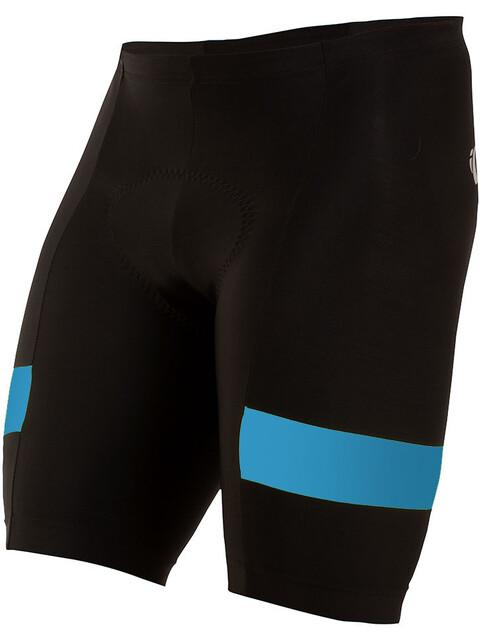 PEARL iZUMi Escape Quest Splice Shorts Men black/atomic blue